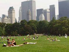 Nova York é uma das melhores cidades do mundo para dar um passeio no parque.