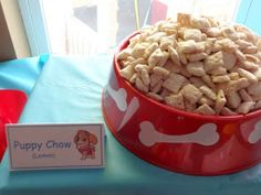 Little M&M just turned 2! His favorite TV show is currently PAW Patrol, on Nick Jr, so I chose this as his party theme. Take a peek at ho...