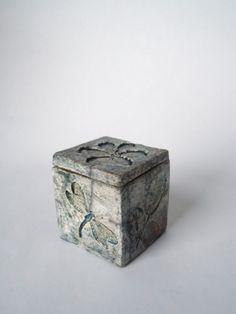 Garden Life Raku Ceramic Box by SoleyInspired on Etsy