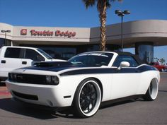 Custom Doge Challenger Convertible 2009 by West Coast Customs