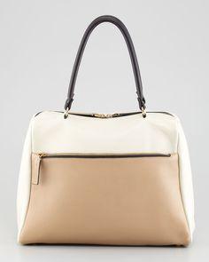 Colorblock Satchel Bag  by Marni