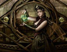 The Illuminationist © Susan Schroder  Steampunk Art