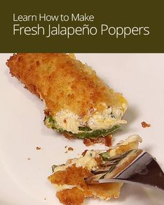 How To Make Homemade Jalapeno Poppers Recipes — Dishmaps