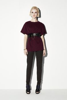 Resort in name only.  But I do like the polka dots here, too.  McQ Alexander McQueen Resort 2014 - WWD.com