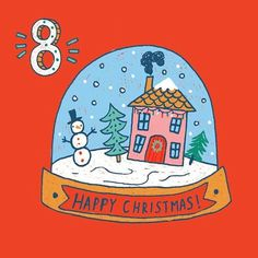 Day 8 🎄❄️ . . #design #designer #instaart #advent #december #adventcalendar #snowglobe #snowman #snow #christmas #crimbo #countdowntochristmas #freelancedesign #freelanceillustrator #graphicdesign #pattern #greetingcards #festive #christmastree #illustrate #illustration #cute #fun #kids #childrensillustration #print #printpattern #surfacedesign #snow #december8 #christmas2016