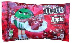 REVIEW: Candy Apple Milk Chocolate M&M's