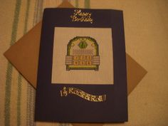 Jukebox birthday card for my partner's dad.
