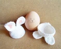 Królik Poradniki Crochet Egg Cup