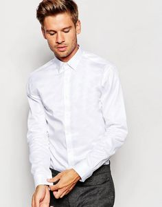 The white shirt! #men #shirt