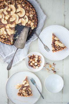 Nutella Apple Tart