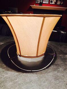 Hometalk | Mad Hatter Repurposed Lampshade Hat