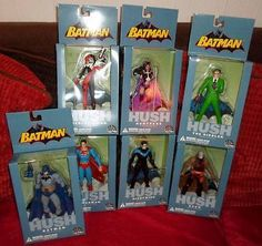 Dc hush comic #superman #harley joker nightwing batman  #riddler figure,  View more on the LINK: http://www.zeppy.io/product/gb/2/371183691259/