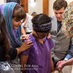 Prayer is one of the key elements of Gospel for Asia. Through multiple times of prayer during the week with GFA staff, the School of Discipleship students learn practically how to pray effectively! Learn more about the School of Discipleship and apply.