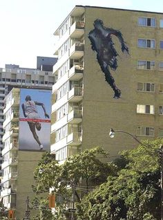 10 Clever Ads on Buildings (clever ads, ads on buildings) - ODDEE