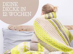 DIY-Anleitung: Decke Nagato häkeln - Das große Häkeln Woche 4 via DaWanda.com