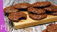 Cookie brownies / Galletas de chocolate tipo brownie