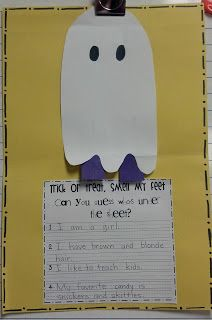 For the Love of First Grade: Trick or Treat!?