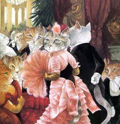 """""""The Ball (James Tissot)"""" par Susan Herbert"""