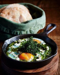 Green Shakshuka Good morning Dubai #CRDXB