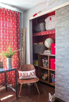 Before & After: A Cute Camping-Themed Kids Bedroom — Professional Project