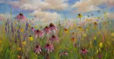'Upon the Tallgrass Prairie'           18x24           pastel         ©Karen Margulis   Did you know that alcohol goes great with pastels?  ...