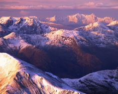 The Alps? no, the summit of Ben Nevis, the highest mountain in the British Isles and a popular destination for climbers