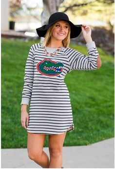 Florida Striped Terry Pullover - product image