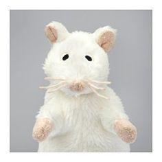 IKEA - GOSIG MUS, Soft toy, , All soft toys are good at hugging, comforting and listening and are fond of play and mischief. In addition, they are reliable and tested for safety.