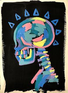 Hippie Kunst, Hippie Art, Easy Canvas Art, Small Canvas Art, Trippy Drawings, Art Drawings, Arte Indie, Oil Pastel Art, Illustration Art