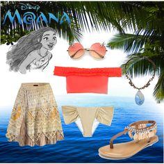 Fashmates Outfit Inspiration: Moana - Swimsuit edition Moana Outfits, Swimsuit Edition, Inspired Outfits, Swimsuits, How To Wear, Inspiration, Shopping, Biblical Inspiration