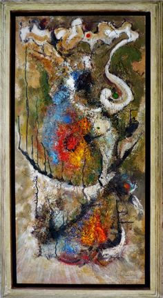 """Miguel Robledo Cimbrón: """"Enigma"""" (2005) Enigma, Painting, Painting Abstract, Abstract, Art, Auction, Canvases, Artists, Painting Art"""