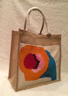 The Soda Flower Tote by TheArtsyNina on Etsy