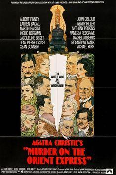 Murder on the Orient Express (1974) Original One-Sheet Movie Poster