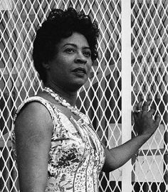 Daisy Bates led the first nine African-American students enrolled in Little Rock Central High School in 1957, after first taking the school to court in 1954 for denying black students, even after the Supreme Court called for an end to segregation.