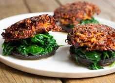 beetroot & carrot burgers