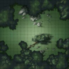 forest map maps battle rpg dungeon tiles dnd 5e road night thick brush fantasy maker trail uploaded tabletop
