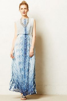 A pretty summer frock : Ninai Maxi Dress - anthropologie.com