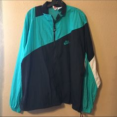 I just added this to my closet on Poshmark: Nike vintage retro windbreaker…