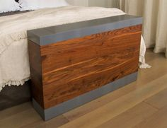 BFW - Detailed Pictures of the popup TV cabinet: Black Walnut, Grey-laquered MDF, TV Lift Pop Up Tv Cabinet, Hidden Tv Cabinet, Custom Furniture, Furniture Design, Furniture Ideas, Outdoor Tv Cabinet, Modern Tv Units, Tv Cabinets, Home Remodeling