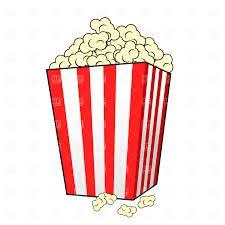 free cartoon graphics fair food popcorn clip art vector clip art rh pinterest com