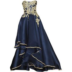 Marchesa - edited by elfemme ❤ liked on Polyvore featuring dresses, gowns, long dresses, vestidos, marchesa evening gowns, marchesa dresses, blue evening dresses, marchesa gowns and marchesa evening dresses