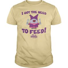 Chowder The Need To Feed T-Shirts, Hoodies. BUY IT NOW ==► Funny Tee Shirts