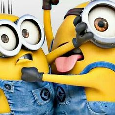 Minions caught in the act.