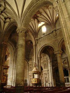 Catedral de Jaca, Huesca. Jaca's Cathedral. Spain