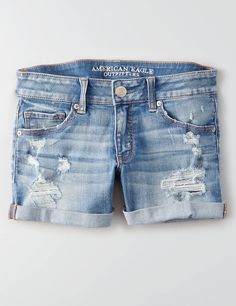 Display product reviews for AEO Denim X Caf Midi Short