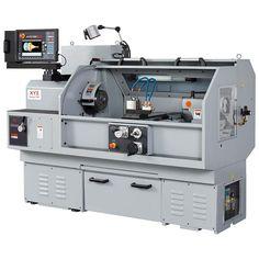 XYZ SLX 355 Lathe - 14x40 - the coolest door, retracts around and over the top