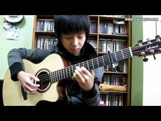This kid turns this into an awesome song.  (Titanic Theme) My Heart Will Go On - Sungha Jung