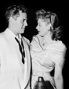 Lucille Ball and Desi Arnaz, 1949