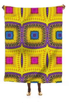 silk skarf in ethnic style from Print All Over Me
