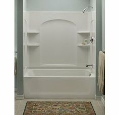 Tub and Shower - One Piece | Renovation Ideas | Pinterest | Tubs ...